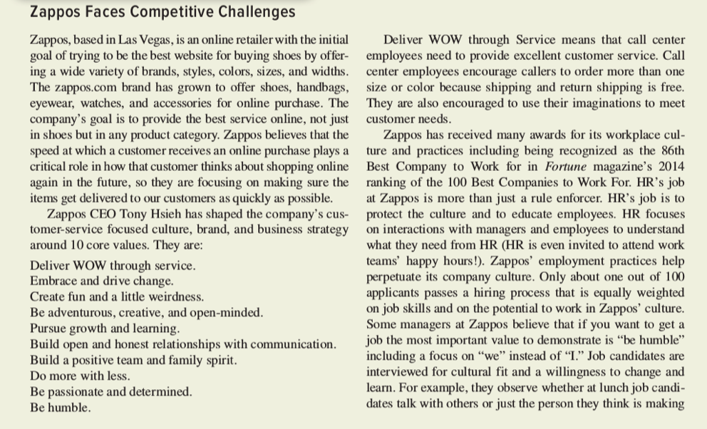 a motivating place to work: the case of zappos essay Subjugated to the topic the importance of high morale at the work place scholars and authors indicate in their empirical studies that organizational culture (high and low morale) is critical in making or breaking of the business.