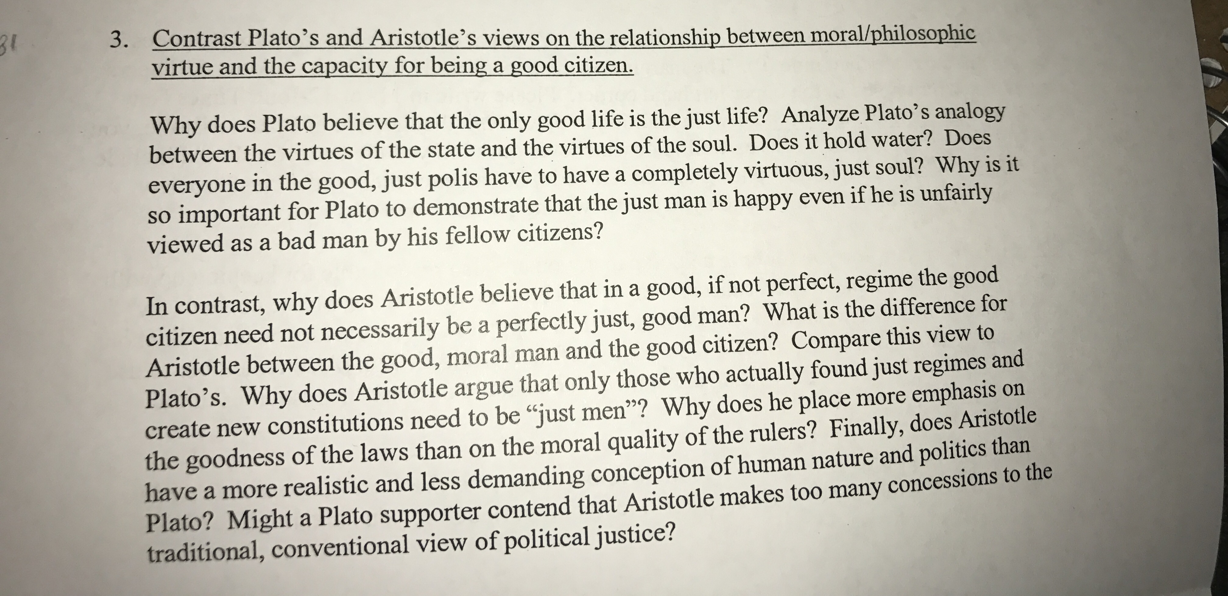 aristotle's definition of citizen state constitution Let's go through the chapter step by step and know about citizenship and state learning objectives what is the definition of a citizen given by aristotle.