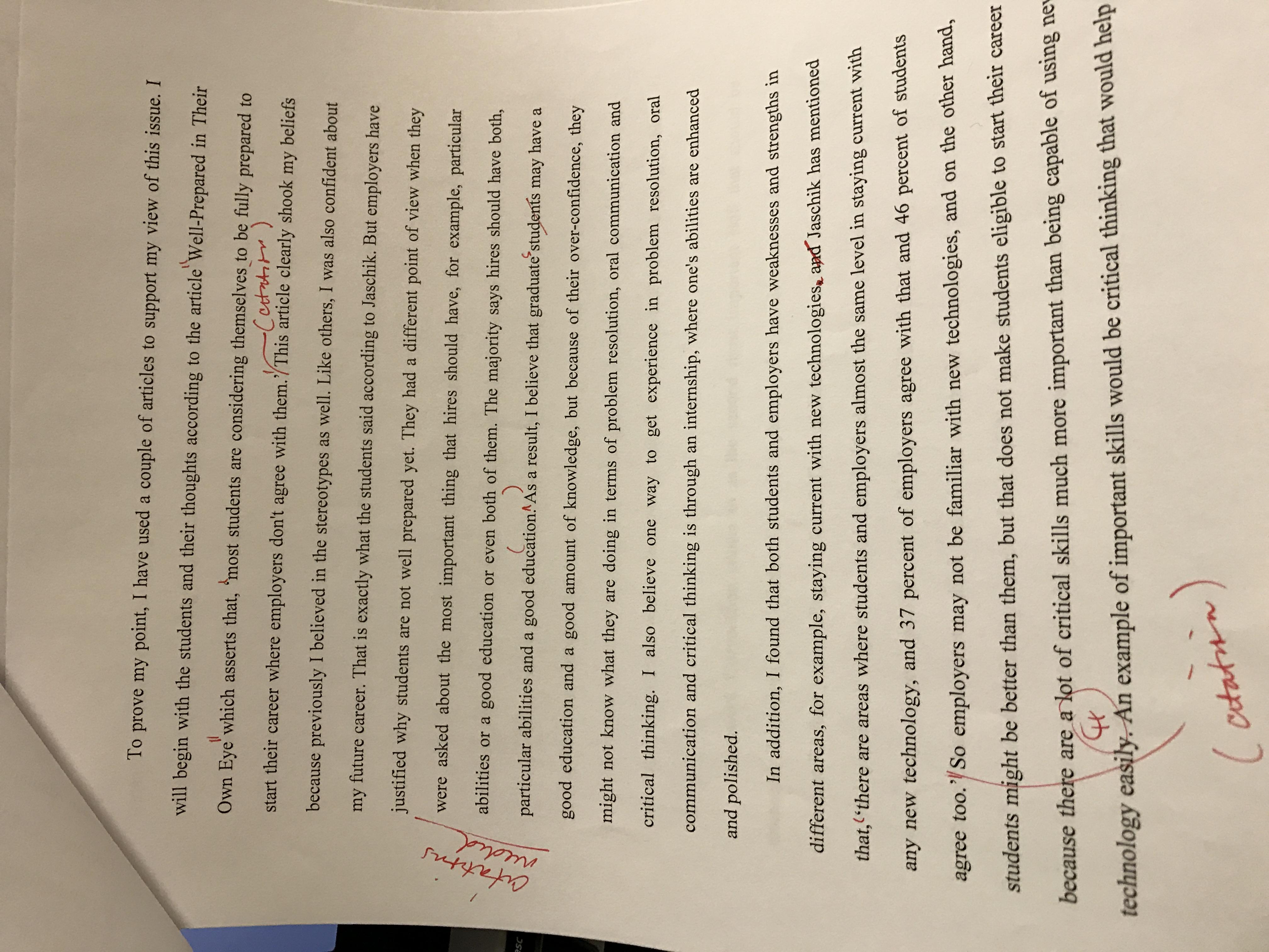 Plagiarism paper title
